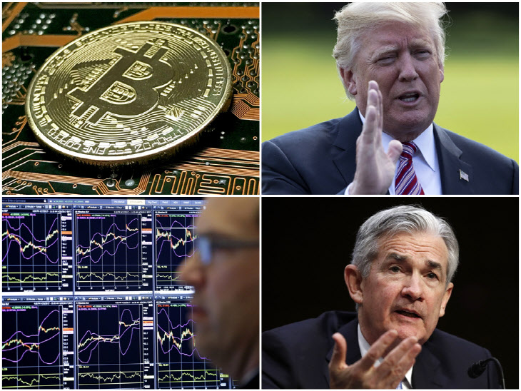 비트코인-트럼프-파월-주식시장