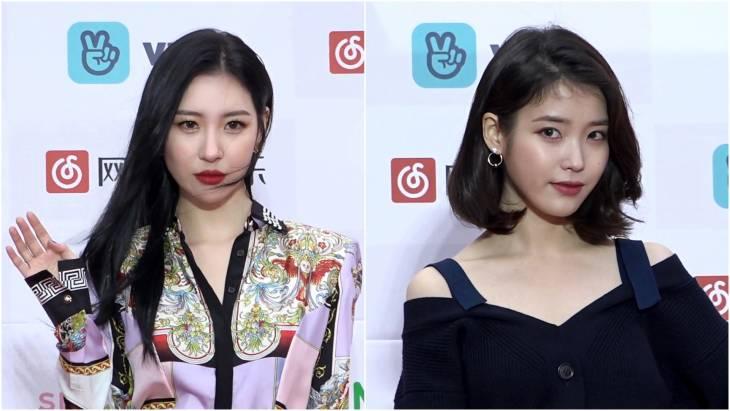 [브릿지영상] 선미-아이유, `아찔+도도` 상반된 패션으로 시선 사로잡은 매력녀들
