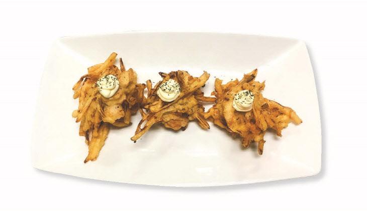 사진(1) 감자 닭가슴살 튀김