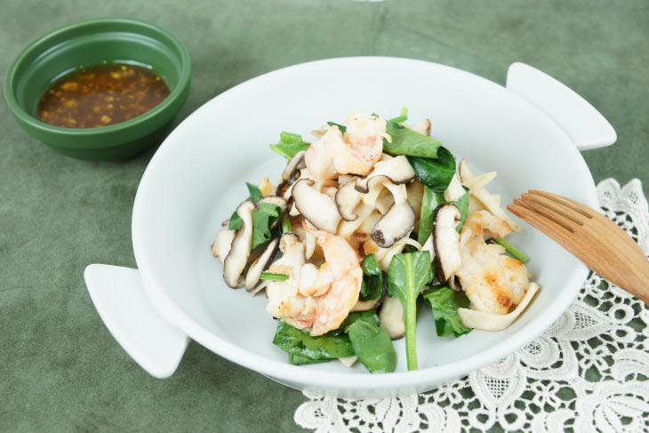 대하 버섯 샐러드 (2)