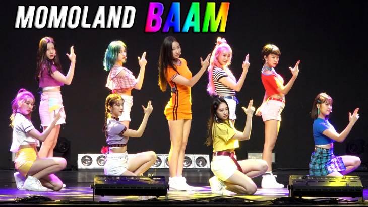 [브릿지영상] 모모랜드, `뿜뿜` 뒤이을 생기발랄한 무대 `BAAM`