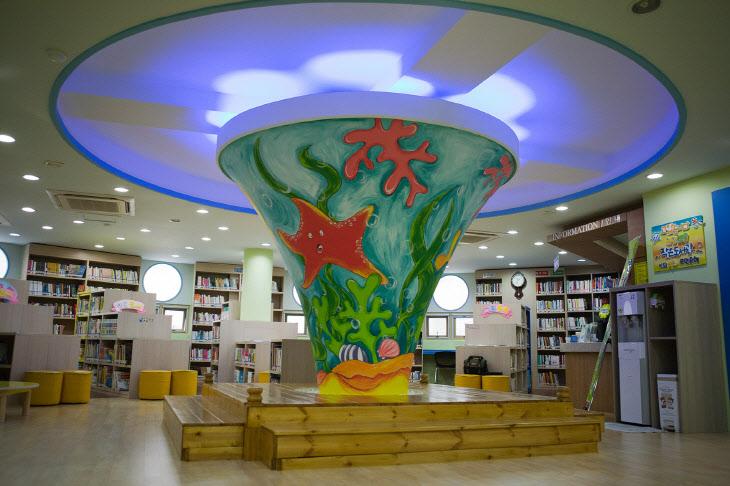 원당 꿈초롱 작은도서관 내부