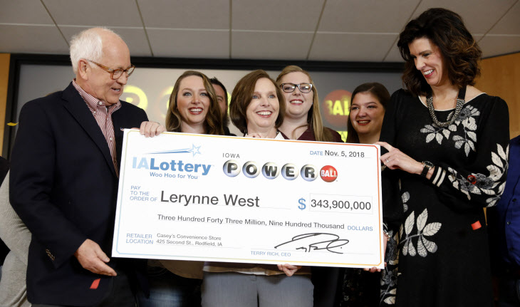Lottery Jackpot Iowa Winner