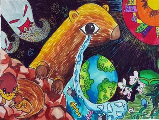 함평군 제10회 멸종위기 야생생물 그림그리기 대회 성료