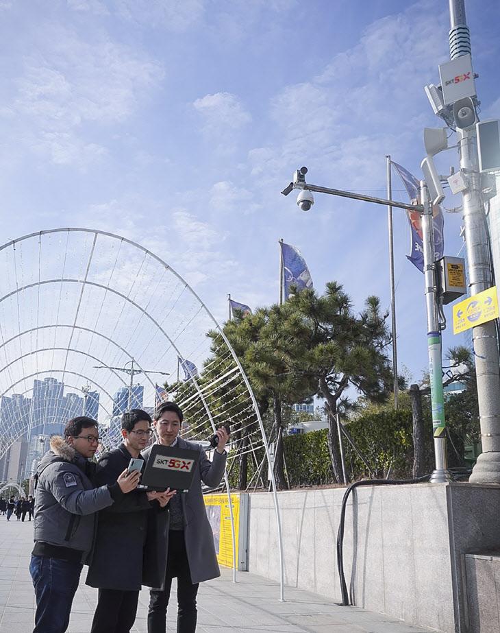 SKT, 상용망서 '순 5G'통신 성공