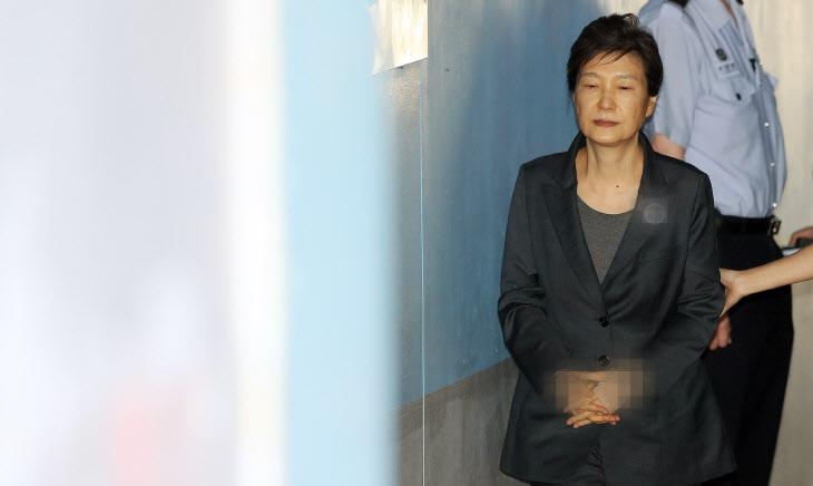 박근혜, 법정으로<YONHAP NO-2982>