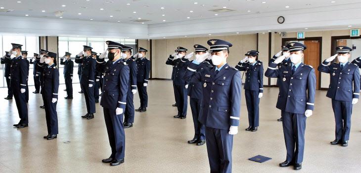 영진전문대, 공군 RNTC 첫 임관식에 37명 임관