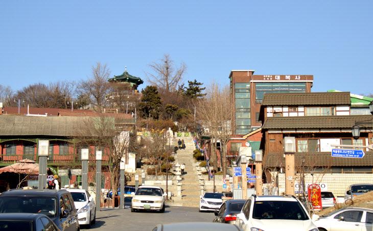 사진 인천 -청일 조계지 경계계단