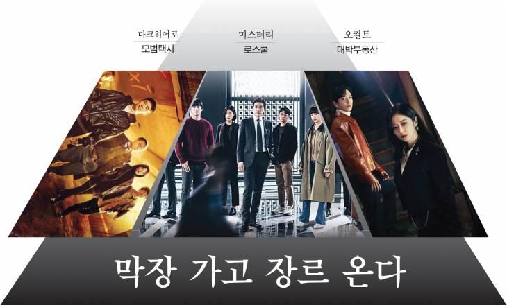[비바100] '펜트하우스' 떠난 자리, 히어로·퇴마·법정 드라마 3편… 골라 보는 재미가 있다