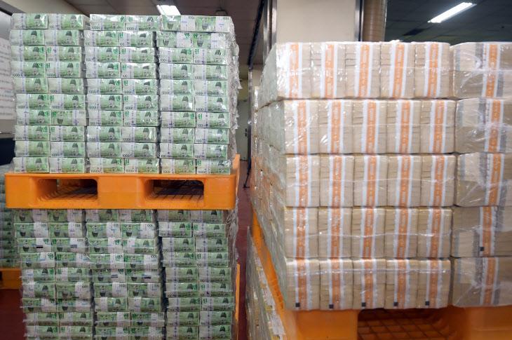 한국은행, 설 명절 자금 방출